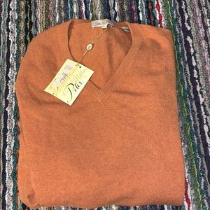 🔥😎 Peter Millar Cashmere V-Nick Sweater
